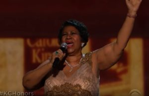 Aretha Franklin @ Kennedy Center Honors 2015 (YouTube)