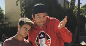 Ashton Kutcher fährt Jungen an (littleduckleo/Instagram)