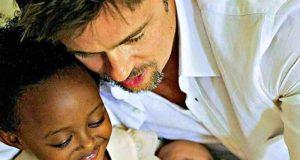 Brad Pitt und seine Kinder (bradpittoffcial/Instagram)