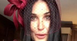 Ist Demi Moore verliebt? (moore2d/Instagram)