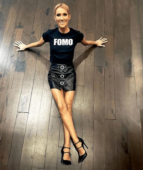 Celine Dion (celinedion/Instagram)