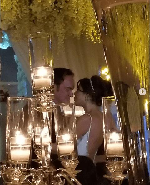 Quentin Tarantino & Daniella Pick (daniellapick/Instagram)