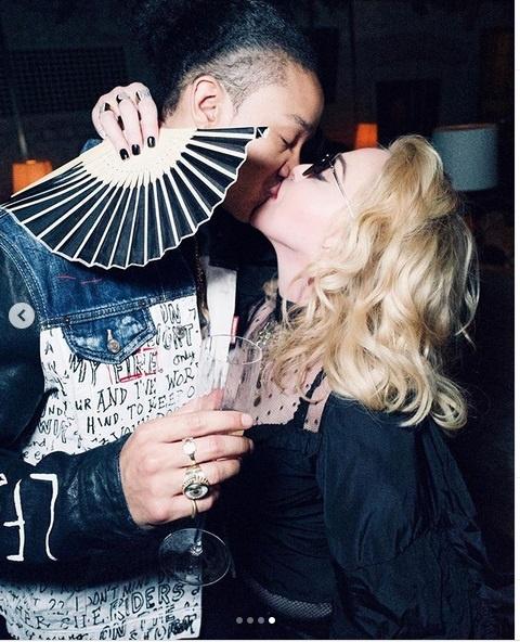 Madonna und Ahlamalik Williams sind glücklich (madonna/Instagram)
